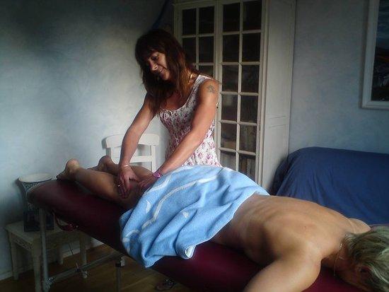 Malissard, Франция: Massage en clientèle