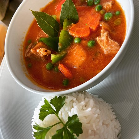 Pork Caldereta- Filipino Stew. Asian Cuisine Specials