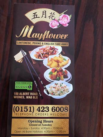 Mayflower Chinese Takeaway Widnes Restaurant Reviews