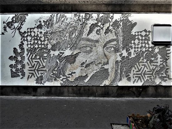"""Fresque """"Portrait"""""""