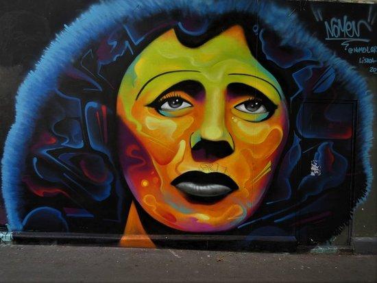 """Fresque """"Edith Piaf"""""""