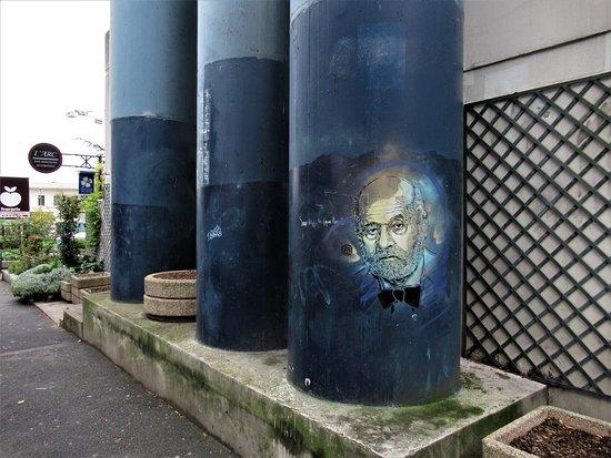 """Fresque """"Auguste Perret"""""""
