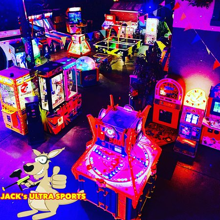 Arcade games at Jack's Ultra Sports