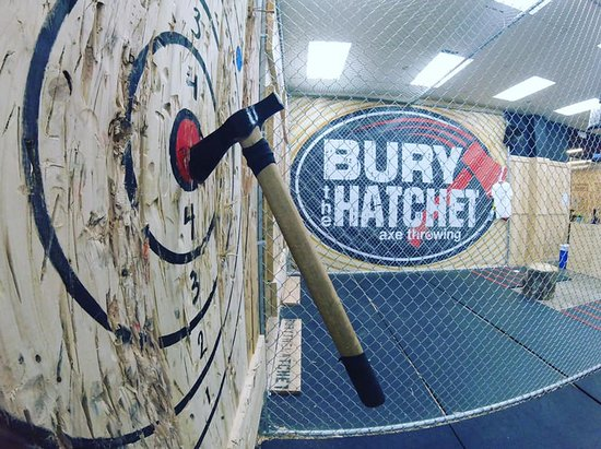 Bury the Hatchet Freehold - Axe Throwing