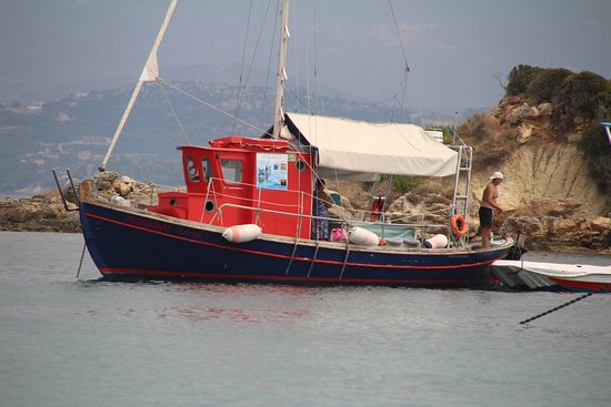 Lixouri, Yunanistan: our boat