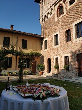 Vespolate, Italië: La torta nuziale