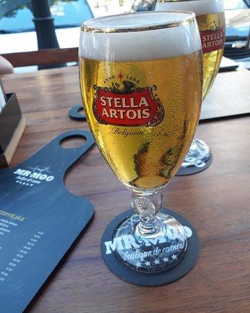 Chopp Stella Artois
