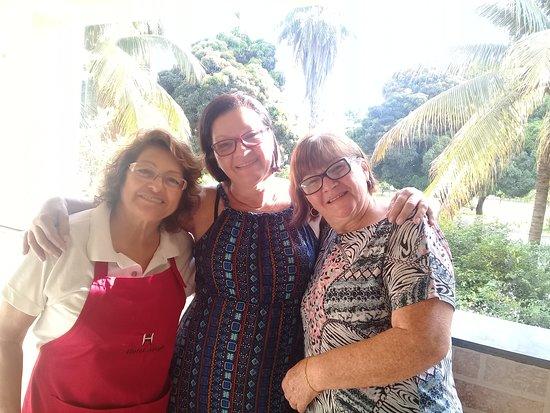 Varzea Da Palma: D.Cecília a proprietária,excelente anfitriã!!!