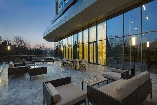 Hilton Garden Inn Istanbul Ataturk Airport: Restaurant