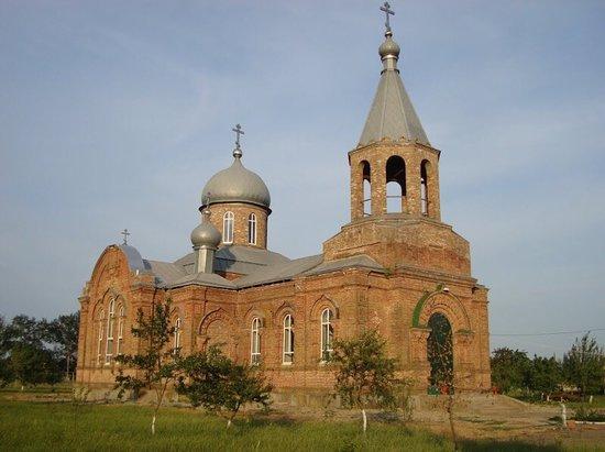 Staronizhestebliyevskaya, Russia: Церковь троицы живоначальной- действующий храм в станице Старонижестеблиевской
