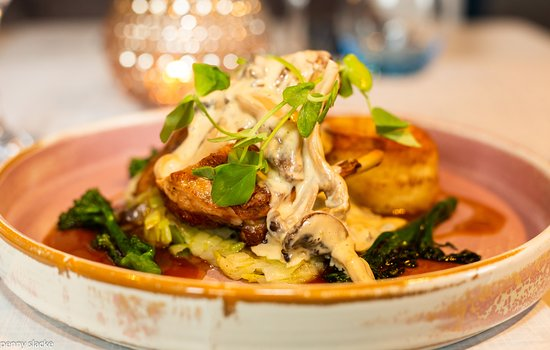 Trinity's at Haslar New Menu 2019  Scrumptious Roast Breast of Guinea Fowl