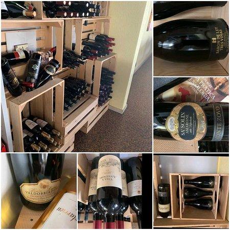 Abbiamo una vasta scelta di vini