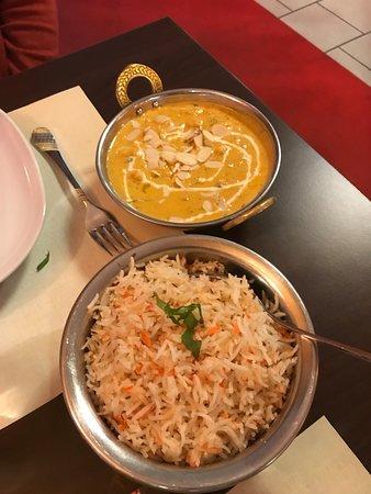 Ris - utrolig lækker og Hovedret....