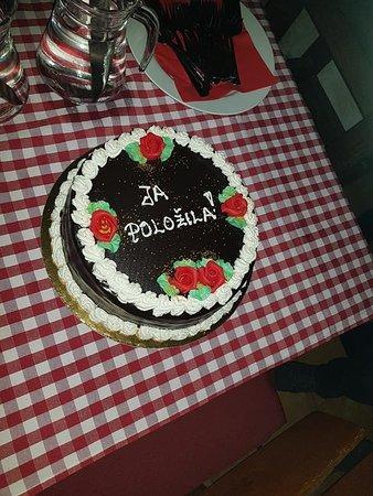 Marina, โครเอเชีย: Prigodna torta