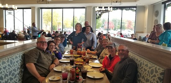 Friends , Great food and fellowship