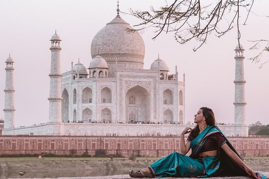 Taj Mahal & Agra Fort Day Tour from Delhi with Private Transfer & Guide