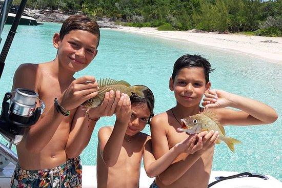 Fisk på Bahamas - Private båt...