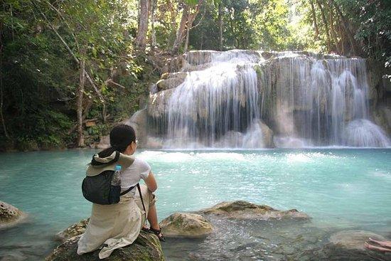 Erawan Waterfall and Elephant Sanctuary ...