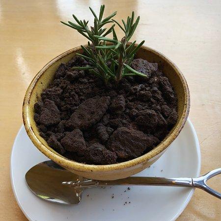 植木鉢パフェ