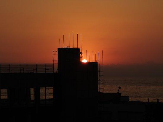 Zouq Mkayel, Lebanon: Un bel tramonto a Zouk Mikael in Libano