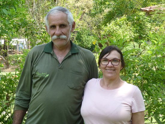 Novo Progresso, PA: The owner and his wife (an excellent cook!).