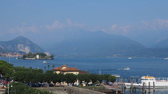 Islo Bella from the Stresa dock.