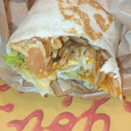 7 Layer Burrito Picture Of Taco Bell Croydon Tripadvisor