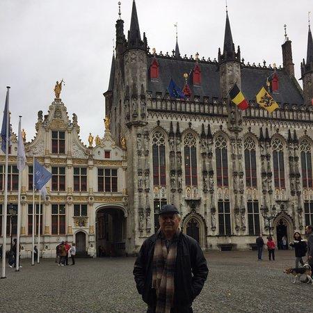 В заповедном Брюгге.