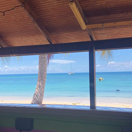 The view from the bar, Sur La Mer, October 2019