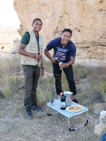 """Madagascar Tripping: You have experience Madagascar for yourself and these two gentlemen are the best... Jean Elisee """"Chritian"""" Rakotondrajoa and Lico !!"""