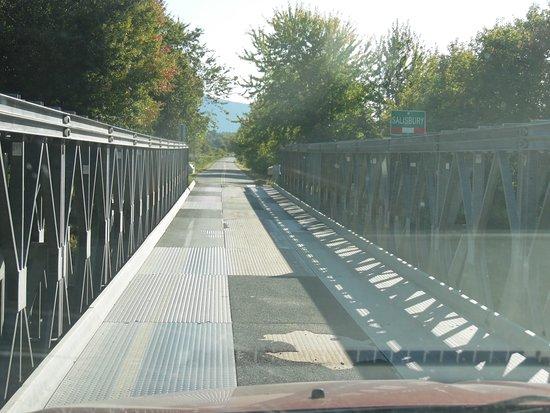 Cornwall-Salisbury Covered Bridge Replacement Bridge (Steel Girder)