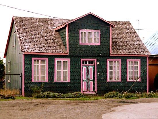 Chacao, Chili: Hermosa y típica casa de la zona.