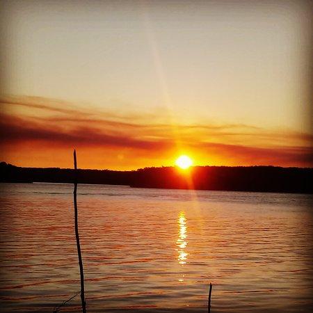 O mais lindo pôr do sol da cidade!!!
