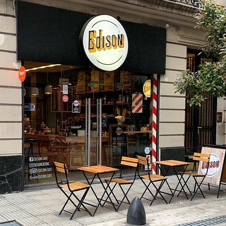 Edison Café: Maipu 745, Retiro Pasión por el Buen Cafe