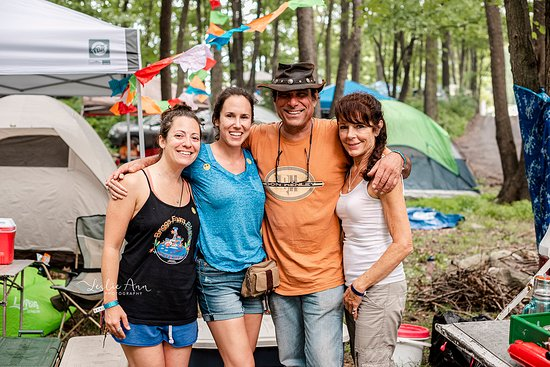 Nescopeck, PA: Camping is the best way to get the full Briggs Farm Blues Festival experience!