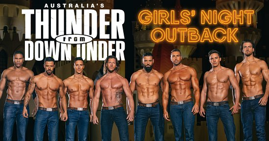 ‪Australia's Thunder from Down Under‬