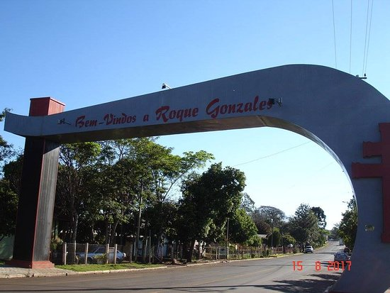Roque Gonzales, RS: pórtico.