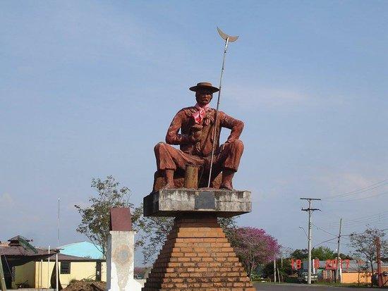 Barra do Quarai, RS: monumento à cidade