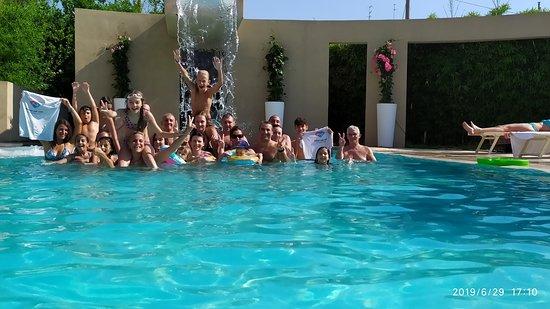 Cecina, Италия: in piscina.,.