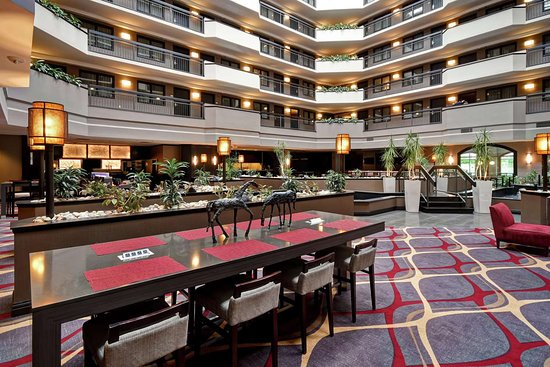 Hotel Good Swans Penned Inside Review Of Embassy Suites By Hilton Dulles Airport Herndon Va Tripadvisor