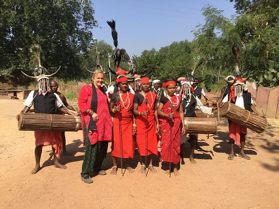 Chhattisgarh, الهند: This traveller came from UK to visit Odisha and its tribal people and their culture and tradition. She visit both Odisha and Chattishgarh tribal tour.