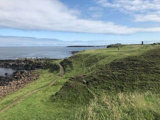 Portrush, UK: Irish golf.