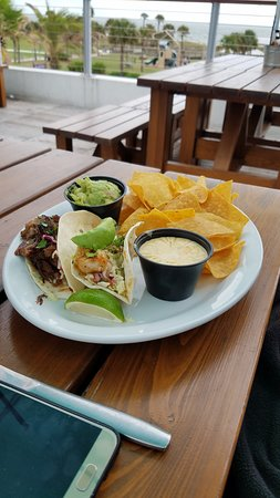Mahi and Short Rib taco