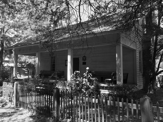 The old house at Malcolm Blue Farm, Aberdeen, North Carolina.