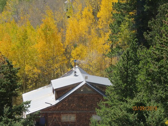 Masonville, Колорадо: This was shot in Buckhorn Canyon.  Part of our Search for Aspen Gold tour.