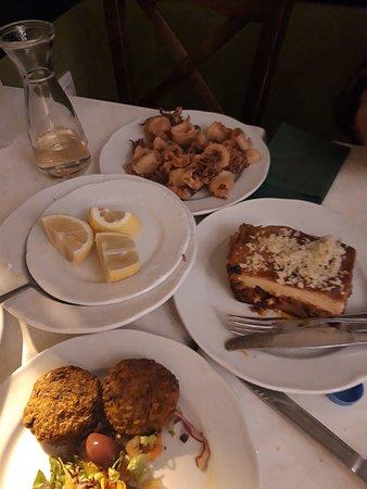 Εστιατόριο Σχολαρχείον: Plats