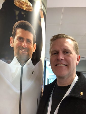 Skip the Line: Wimbledon Lawn Tennis Museum and Tour Ticket: A multi grand slam champion and some bloke called Novak...