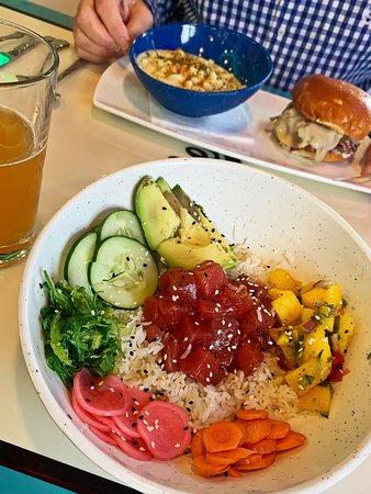 Urbana, MD: Tuna Poké rice bowl