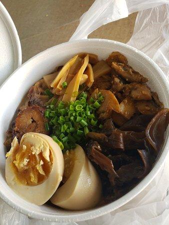 The best noodle ramen soup ever!