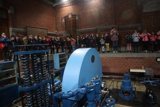 Houdeng-Goegnies, Bélgica: In de machinekamer.